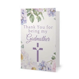 Godmother Card - Thank You For Being My Godmother