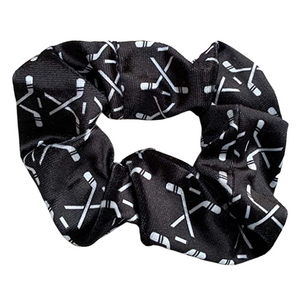 Ice Hockey Premium Velvet Scrunchie - Infinity Collection