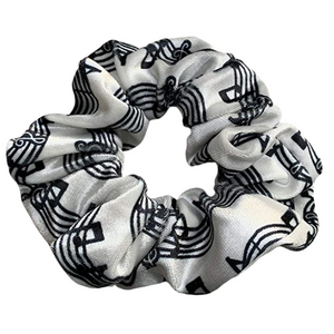 Music Premium Velvet Scrunchie - Infinity Collection