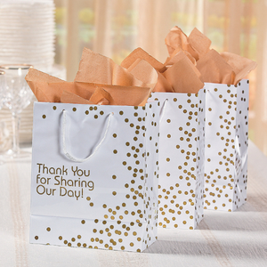 Gold Wedding Dot Gift