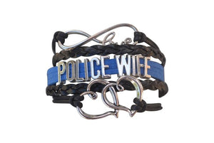Police Infinity Wife Bracelet - Infinity Collection
