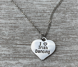 Irish Dance Necklace - Infinity Collection