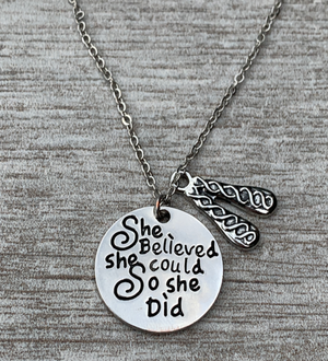 Irish She Did Dance Necklace - Infinity Collection