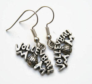 Volleyball Mom Earrings - Infinity Collection