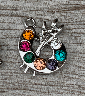 Paint Palette Charm - Infinity Collection