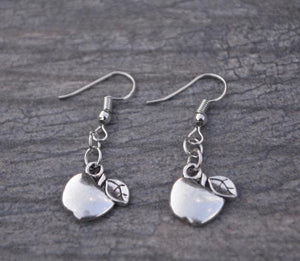 Teacher Apple Earrings - Infinity Collection