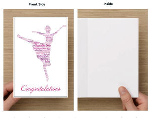 Dance Card - Congratulations - Infinity Collection