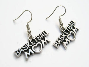 Basketball Mom Earrings - Infinity Collection