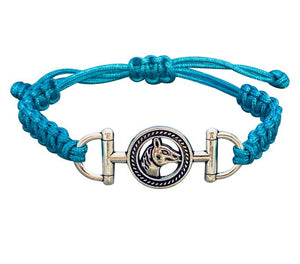 Horse Rope Bracelet - Pick Color - Infinity Collection