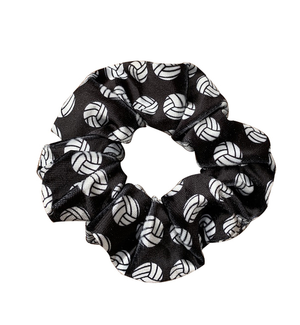 Volleyball Premium Velvet Scrunchie - Infinity Collection
