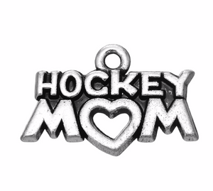 Hockey Mom Charm - Infinity Collection