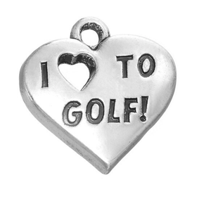 Love to Golf Charm - Infinity Collection