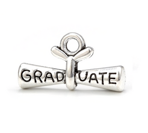 Graduation Diploma Charm - Infinity Collection