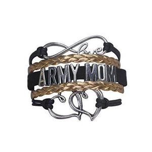 Army Mom Infinity Bracelet - Infinity Collection