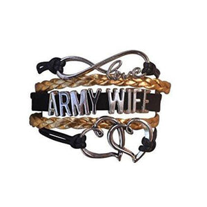 Army Wife Bracelet - Infinity Collection