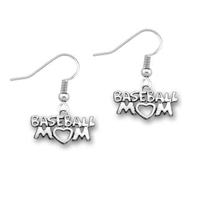 Baseball Mom Earrings - Infinity Collection