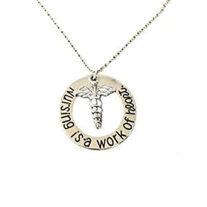 Nurse She Believed She Could So She Did Necklace - Infinity Collection