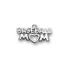 Baseball Mom Charm - Infinity Collection