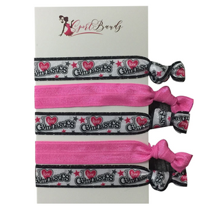 Gymnastics Hair Ties - Infinity Collection