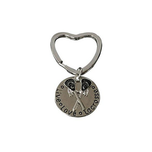 Live Love Lacrosse Keychain - Infinity Collection