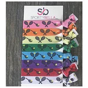 Tennis Hair Ties- Multi Colored - Infinity Collection