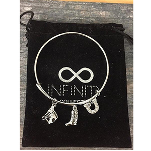 Horse Charm Bracelet - Infinity Collection