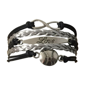 Softball Love Bracelet - Infinity Collection