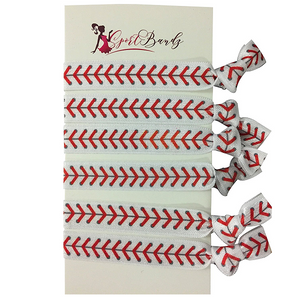 Baseball Hair Ties Set - Infinity Collection