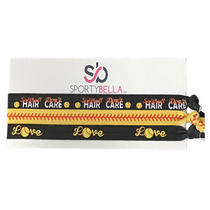 Softball Hair Don't Care Headbands - Infinity Collection