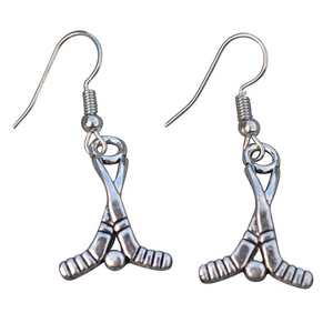 Hockey Stick Earrings - Infinity Collection