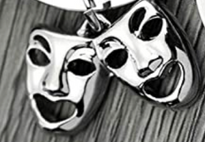 Drama Mask Charm - Infinity Collection