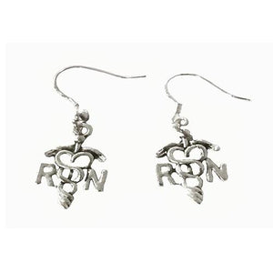 RN Charm Earrings - Infinity Collection