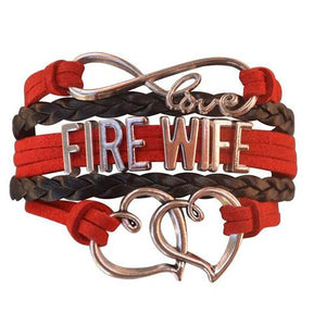Firefighter Wife Bracelet - Infinity Collection