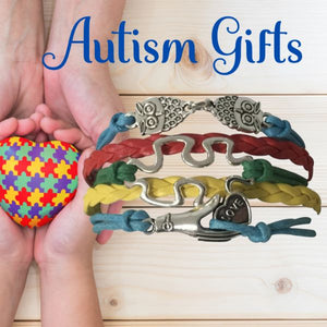 Autism Charm Bracelet, Autism Awareness Jewelry - Infinity Collection