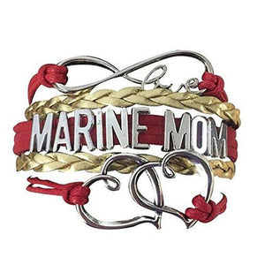 Marine Mom Bracelet - Infinity Collection