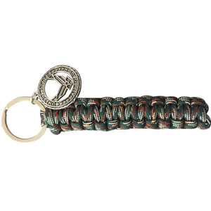 Airforce Paracord Camo Keychain - Infinity Collection