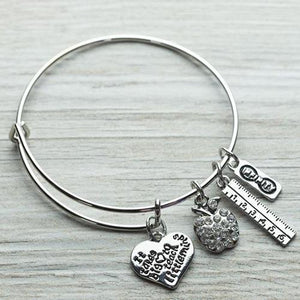 Teacher Little Minds Bracelet - Infinity Collection