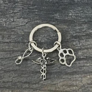 Veterinarian Keychain - Infinity Collection