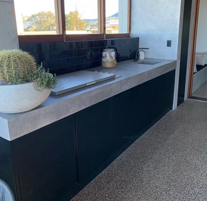 Polished Concrete Outdoor Kitchens and BBQ Units