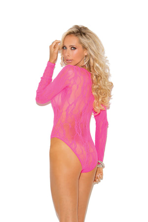 Long sleeve teddy -comes in plus size