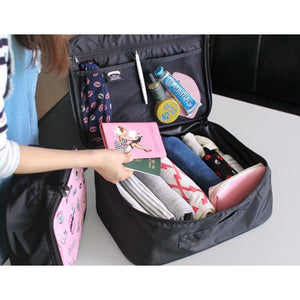 Storage bag cartoon waterproof luggage bag large capacity portable travel bag