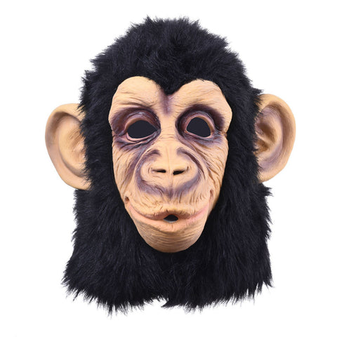 Rise of Planet of the Apes Halloween cosplay gorilla masquerade mask Monkey King Costumes caps realistic FestivalParty masks