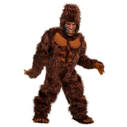 New Halloween Amazing Bigfoot Costume For Kids Legendary Unknown Primate Children Performance King Kong Cosplay Clothing