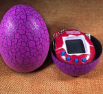 DROPSHIPPING Multi-colors Dinosaur egg Virtual Cyber Digital Pet Game Toy Tamagotchis Digital Electronic E-Pet Christmas Gift