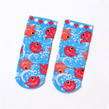 Women's Cartoon Socks Creative Printing Cat Fish Sushi Pattern Art Funny Socks Calcetines Japan Fashion Harajuku Cute Socks Meia