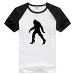Bigfoot Sasquatch In High Heels short sleeve casual Men/Women T-shirt Comfortable Tshirt Cool Print tee funny design GA340