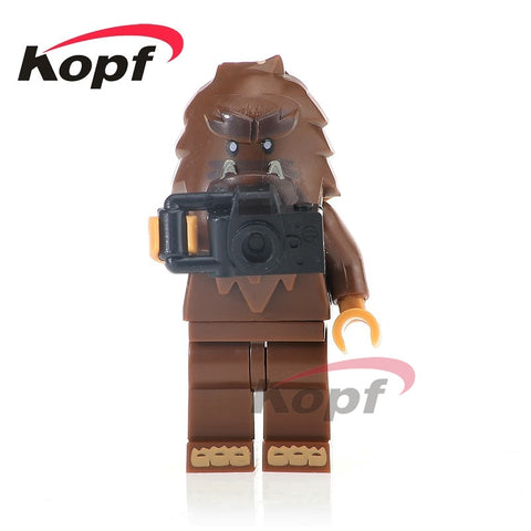 PG1120 Super Heroes Bigfoot Building Blocks Gift Toys