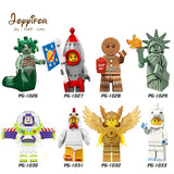 Joyyifor 2018 New Lot Compatible Toy Story LegoINGlys Woody Buzz Lightyear Statue Of Liberty Rex Andy Chen Best Gift To Children
