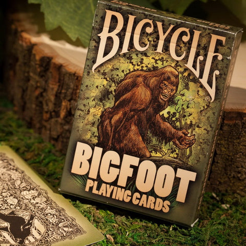 1 Deck Bicycle BigFoot Playing Cards Poker Size USPCC Magic Cards New Sealed Collectable Cards Magic Tricks Props for Migician