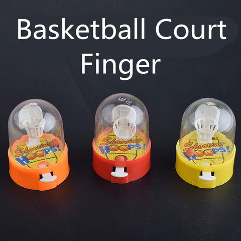 Finger Basketball Court 2pcs/lot Fingertip Table Sport Ball Game Stress Relief Fidget Gags & Practical Jokes Toy for Children